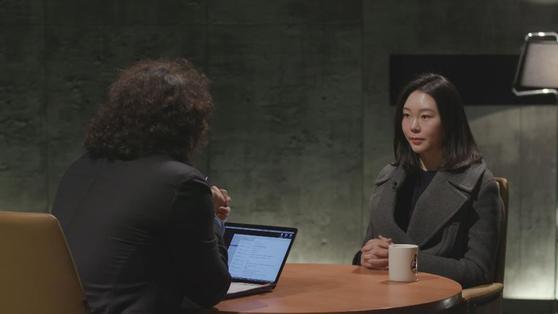 SBS 김어준의 블랙하우스에 출연한 노선영 선수. [사진 SBS]