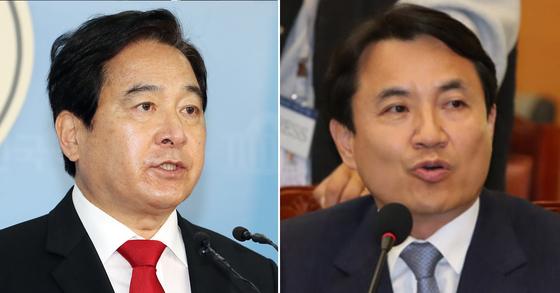 (왼쪽부터)심재철, 김진태 자유한국당 의원 [연합뉴스]
