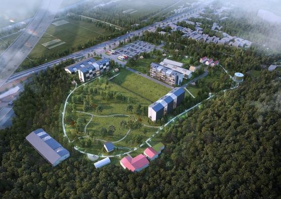 '캠프 잭슨' 부지 문화예술공원 개발 조감도. [사진 의정부시]