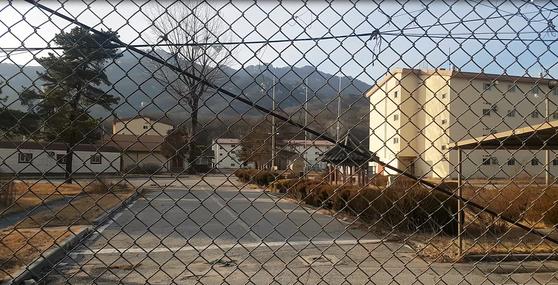 지난해 5월 미군이 떠난 의정부시 호원동 '캠프 잭슨' 부지. 전익진 기자