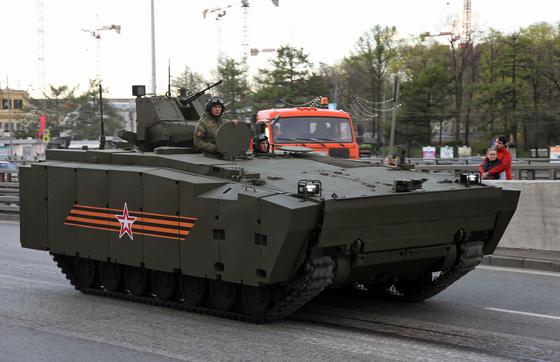 러시아의 신형 보병전투차 쿠르가네츠-25. [사진 VitalyKuzmin]