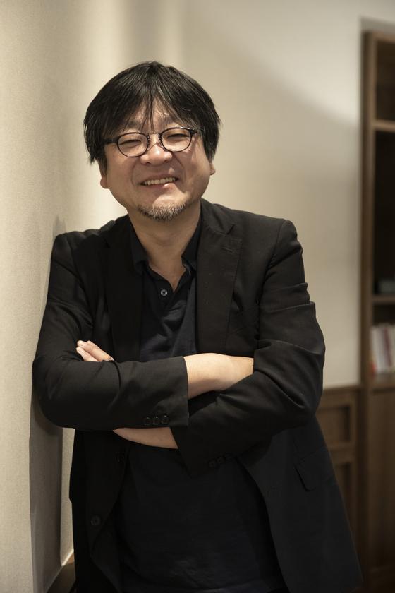 애니메이션 '미래의 미라이'로 지난달 한국을 찾은 호소다 마모루 감독. [사진 얼리버드픽쳐스]