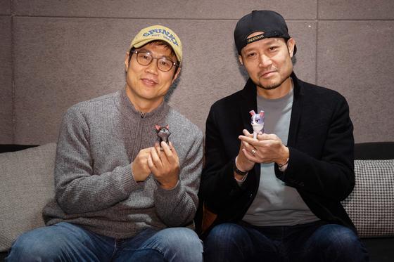 왼쪽부터 '언더독'을 연출한 이춘백, 오성윤 감독. [사진 NEW]