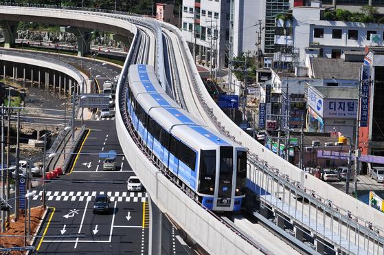 부산 도시철도 4호선. [사진 부산시]
