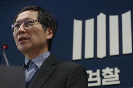 김갑배 검찰 과거사위원회 위원장. [뉴스1]