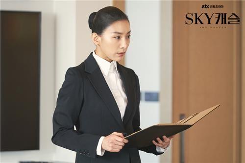 'SKY캐슬' 속 김주영. [사진 JTBC]