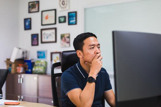 VNG그룹 창립자이자 CEO인 리홍민.