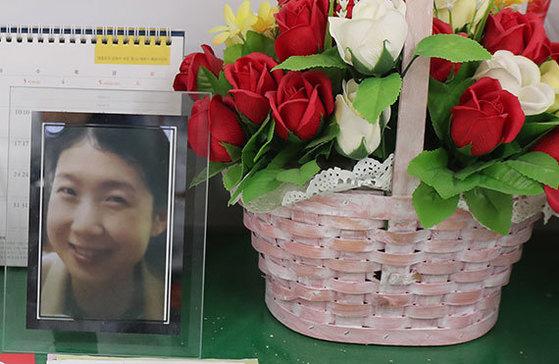 세월호 침몰 당시 학생들을 구하다 숨진 기간제 교사 김초원 교사.[중앙포토]