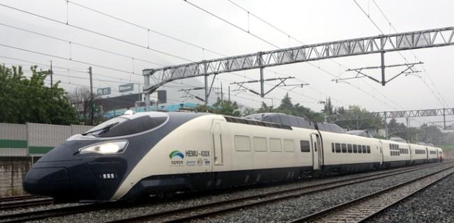 차세대 고속열차로 개발된 해무. [중앙포토]
