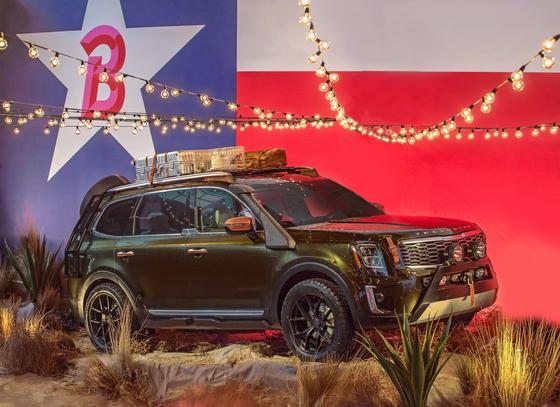기아차가 14일 디트로이트 모터쇼에서 선보일 예정인 텔루라이드. [사진 현대차그룹]