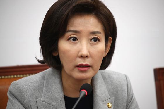 나경원 자유한국당 원내대표. 오종택 기자