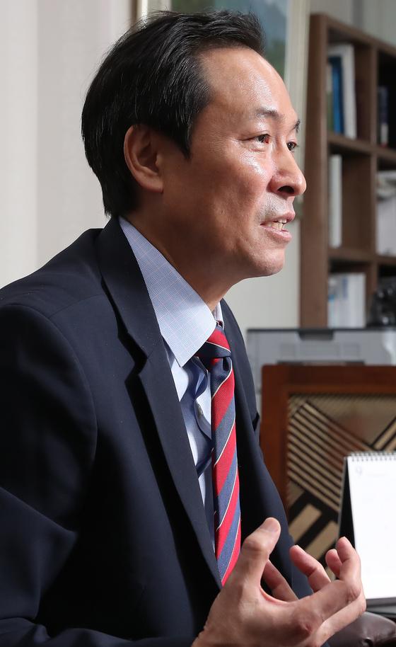우상호 의원. [중앙포토]
