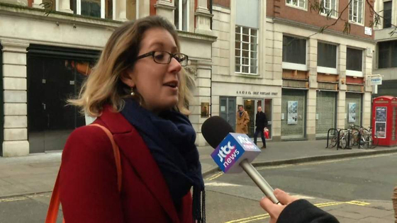 """런던 중심가에서 만난 조지는 """"의원들도 모르는데 대중이 어떻게 브렉시트 해법을 알겠느냐""""고 말했다. [양현서 JTBC 촬영기자]"""