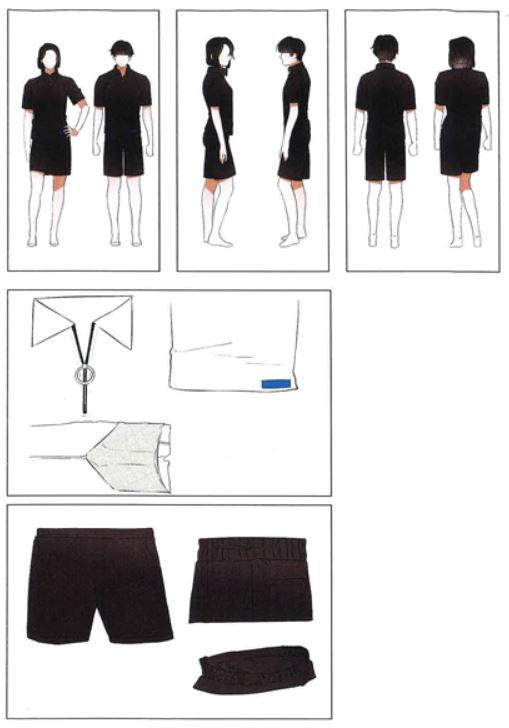 '내가 입고 싶은 편안한 교복' 디자인 공모전 일반부문 최우수작 '공용 하복' [사진 서울시교육청]