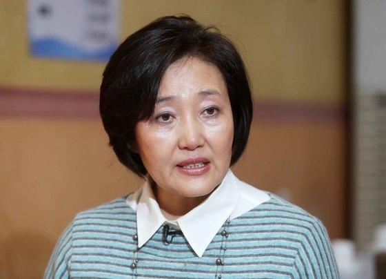박영선 더불어민주당 의원 [중앙포토]