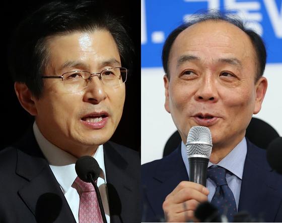 황교안 전 국무총리(왼쪽), 전원책 변호사 [연합뉴스·뉴스1]