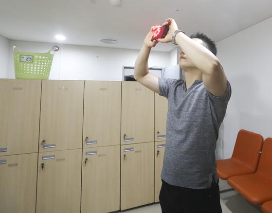 '여자 수영선수 탈의실 몰카촬영' 전 국가대표, 항소심서 실형