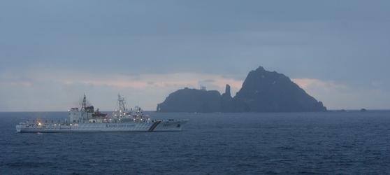 해경의 5000t급 해양경비함정인 삼봉호