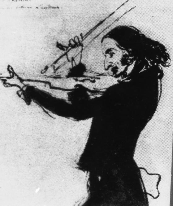 바이올린의 귀재 니콜로 파가니니(1782~1840). 그는 바이올린 줄이 끊어진 채로 완벽한 연주를 하기도 했다. 그는 템스 강변을 산책하러 나왔다 바이올린을 연주하는 노인을 위해 몇 곡을 연주해 주었다. [중앙포토]