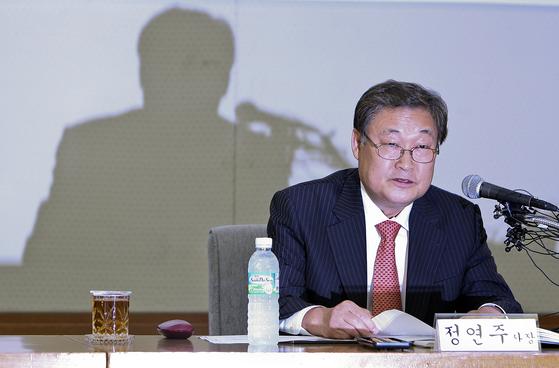 정연주 전 KBS 사장. [중앙포토]