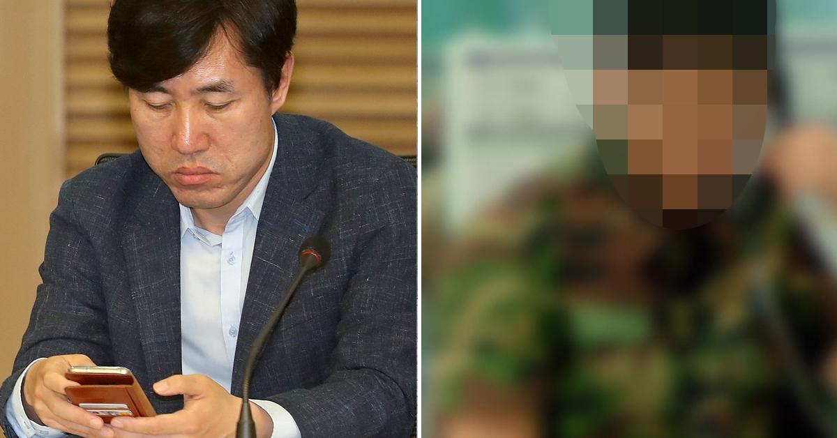 """하태경 바른미래당 의원이 '대한민국 군대, 당나라 군대 된다""""며 군 휴대전화 사용에 대해 비난했다. [중앙포토·연합뉴스]"""