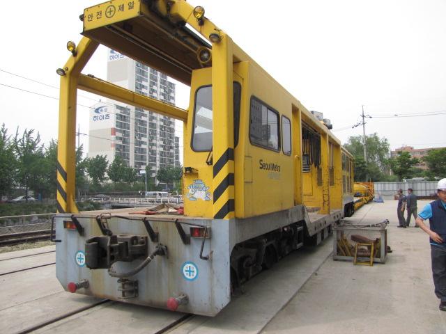 지하철 안전관리에 사용되는 궤도모터카. [사진 블로그캡처]