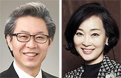 박호성(左), 정혜진(右)