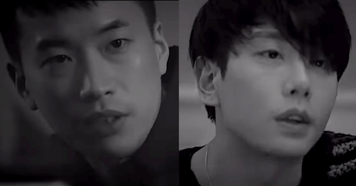 JTBC '너의 노래는' 첫회가 방송됐다. 첫회에 출연한 음악감독 정재일(왼쪽)과 가수 박효신. [사진 JTBC]