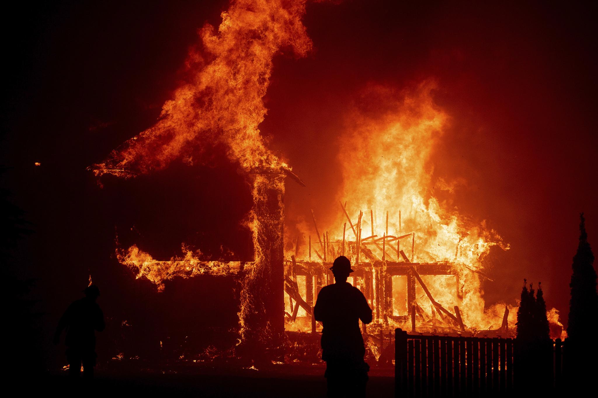 지난해 11월에 발생한 미국 캘리포니아 산불.[AP=연합뉴스]