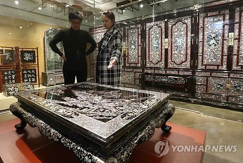 한국나전칠기박물관 [연합뉴스]