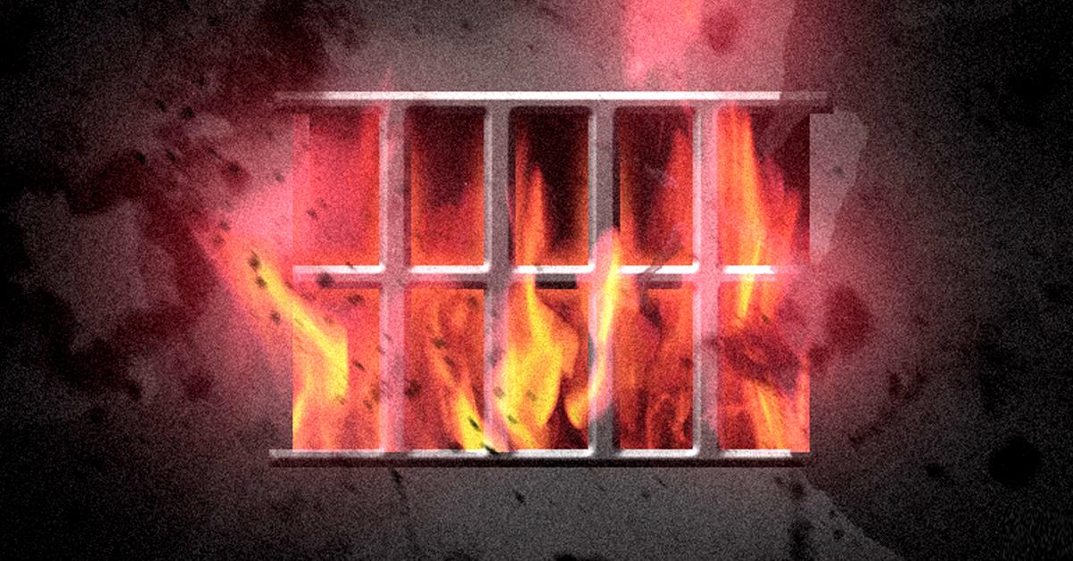 충북 청주시 상당구의 한 폐가에서 21일 오후 6시20분쯤 방화로 추정되는 불이 났다. [뉴스1]