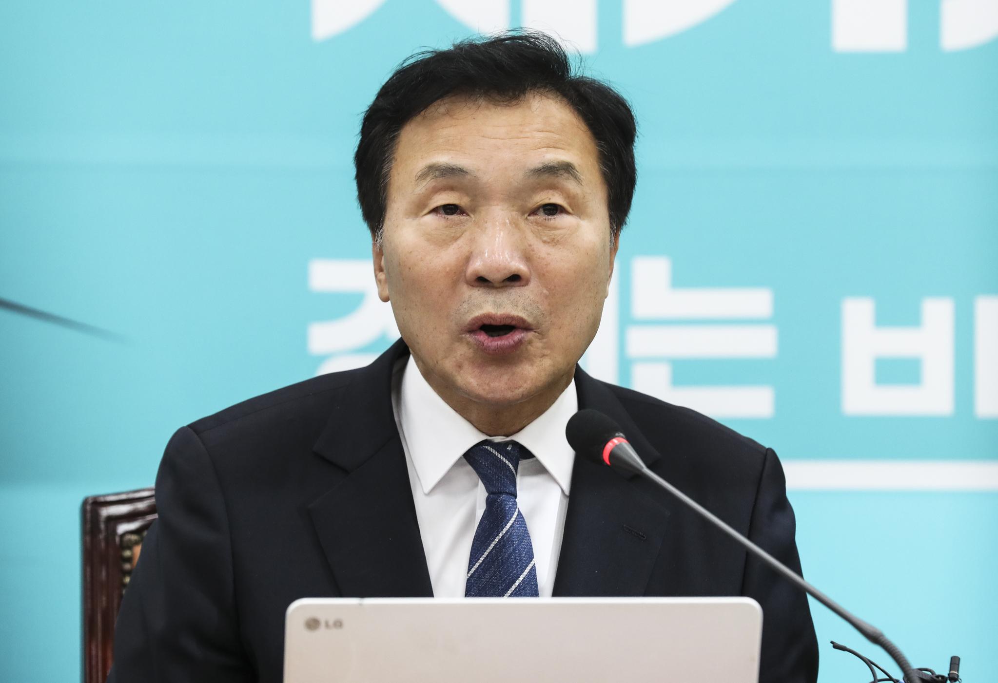 손학규 바른미래당 대표. [중앙포토]