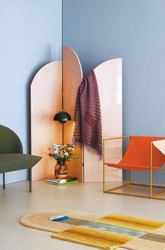 LG하우시스가 올해의 디자인 트렌드로 제안한 공간 속 룸 디바이더