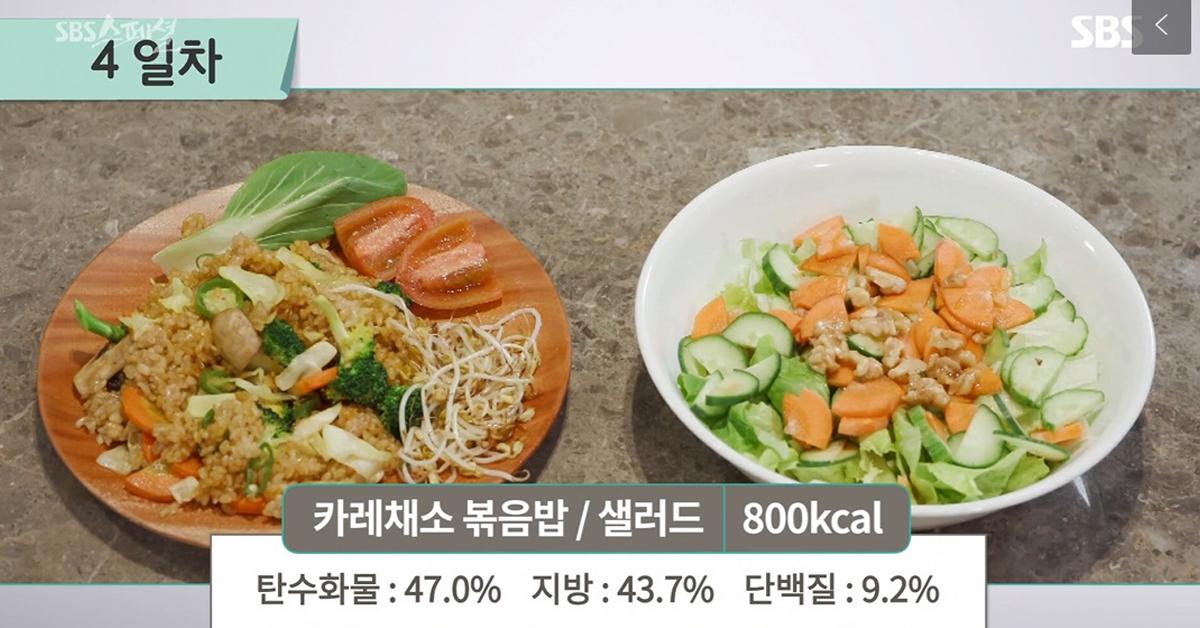 20일 방송된 SBS 교양 프로그램 'SBS 스페셜'에서 '2019 끼니 반란-먹는 단식, FMD의 비밀' 편을 통해 FMD 식단이 소개됐다. [사진 SBS 캡처]