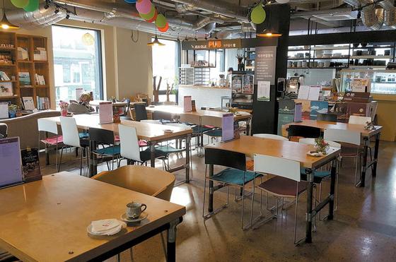 2월 1~2일 '올레에 홀닭 반했닭' 팝업 레스토랑이 열릴 제주도 서귀포시의 제주올레 여행자센터 전경. [사진 제주올레 여행자센터]