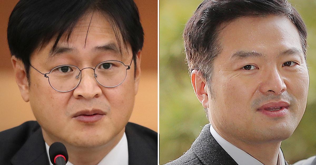 박형철 청와대 반부패비서관(왼쪽), 김태우 전 청와대 특별감찰반원. [연합뉴스]