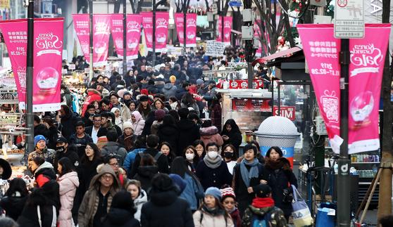 한국 찾는 해외관광객 15% 증가…중국·일본인↑