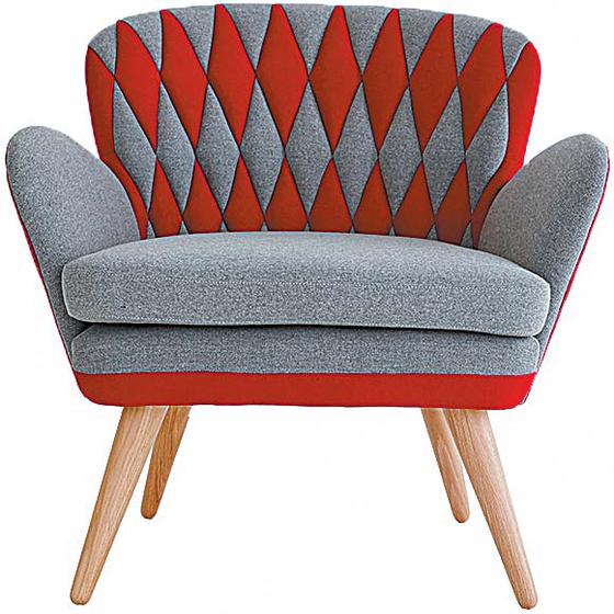 미스터펀의 1인용 의자는 미키마우스에서 영감을 받아 디자인한 덴마크 수입품