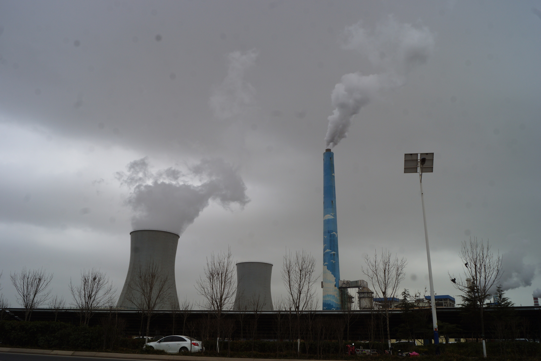 한반도와 가까운 곳에 오염시설 옮겼다? 中 산둥성 가보니