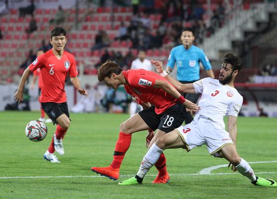 [속보] 한국, 바레인에 연장 전반전 2-1…'후반 15분 남았다'