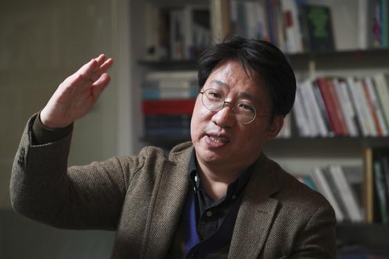 성정민 맥킨지 부소장 인터뷰가 21일 서울 중구 중앙일보에서 열렸다. 임현동 기자