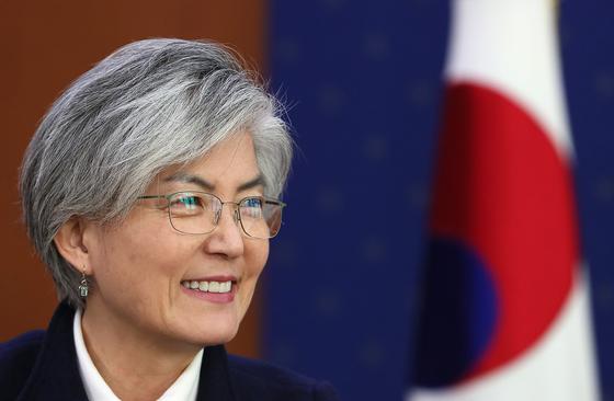 강경화 장관 2차 북미 정상회담, 비핵화 성과 이뤄내야
