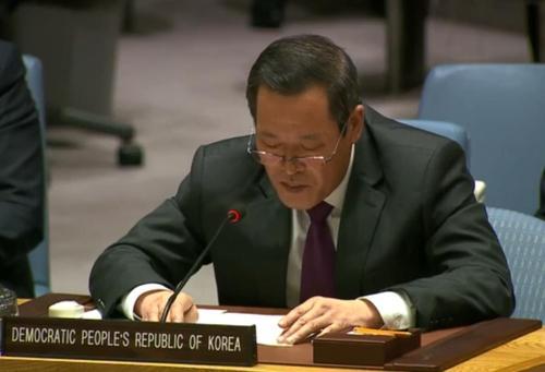 북한, UN 안보리 참석해 이스라엘 비판···美 우회적 겨냥했나