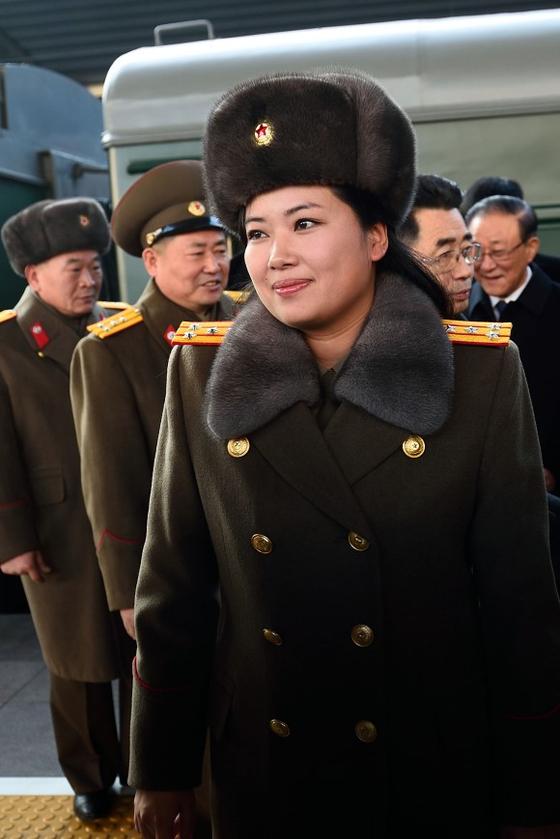 현송월 북한 삼지연악단 단장 [중앙포토]