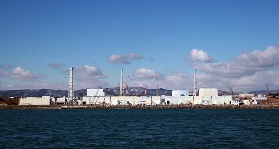 일본 후쿠시만 원전 앞 바다. 정윤일 교수는 후쿠시마 지진은 경주지진보다 파괴력 측면에서 6만4000배나 강하다며 한국에서 원전이 이같은 피해를 입을 가능성은 적다고 말했다. [중앙포토]