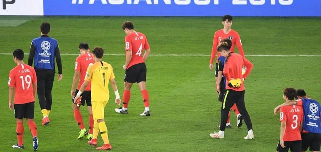 59년 만의 아시안컵 우승을 노렸던 한국 대표팀은 25일 열린 2019 AFC 아시안컵 8강전에서 카타르에게 패배했다. AFC 제공