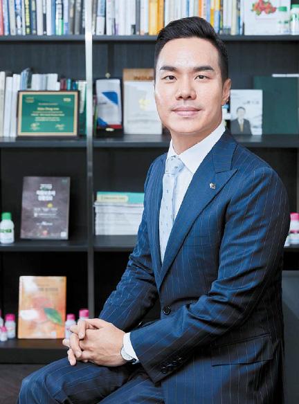 """한동우 대표는 '국민의 먹을거리를 책임진다는 사명감을 갖고 일한다""""고 말했다. 프리랜서 조인기"""