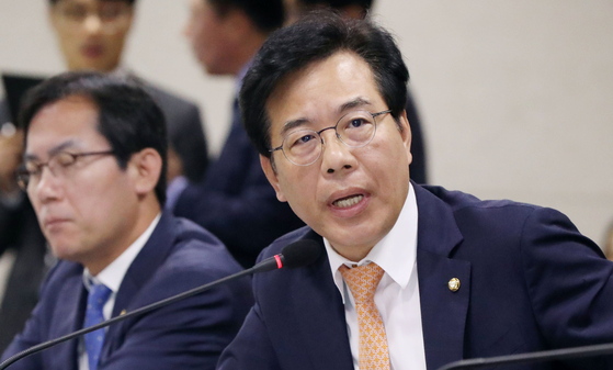 송언석 자유한국당 의원. [뉴스1]