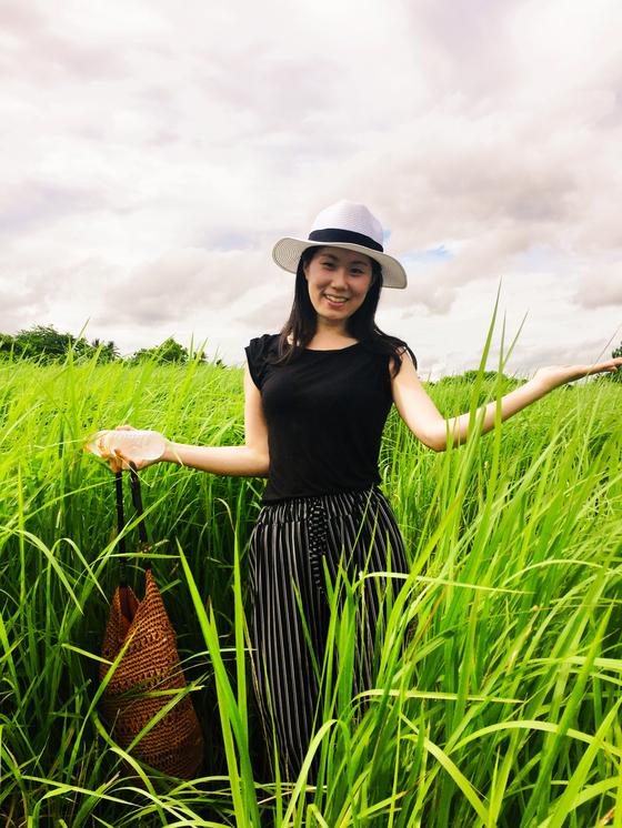 오은비씨는 2016년 디지털 노마드족(유목민처럼 자유롭게 돌아다니며 시간과 장소에 구애받지 않고 일하는 사람들)이 많이 모이는 인도네시아 발리에서 요가 여행을 겸한 '한 달 살기'를 경험했다.