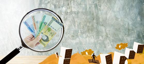 증권사로부터 고금리로 돈을 빌려 주식에 사는 '위험한 투자'가 다시 늘고 있다. [중앙DB]